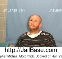 CHRISTOPHER MICHAEL MCCORMICK mugshot picture