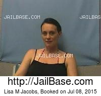 LISA M JACOBS mugshot picture