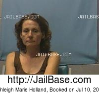 ASHLEIGH MARIE HOLLAND mugshot picture