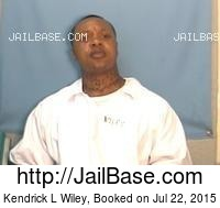KENDRICK L WILEY mugshot picture