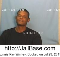 LONNIE RAY WINFREY mugshot picture