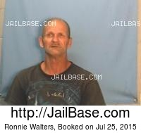 RONNIE WALTERS mugshot picture
