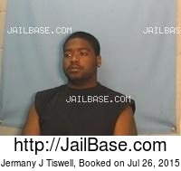 JERMANY J TISWELL mugshot picture