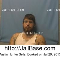 AUSTIN HUNTER SELLS mugshot picture