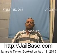 JAMES A TAYLOR mugshot picture