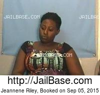 JEANNENE RILEY mugshot picture