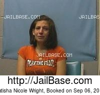 NATISHA NICOLE WRIGHT mugshot picture