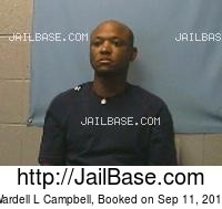 WARDELL L CAMPBELL mugshot picture