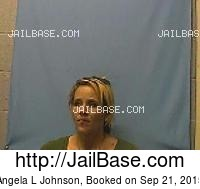 ANGELA L JOHNSON mugshot picture