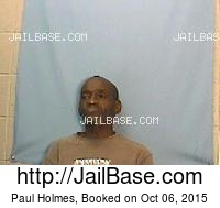 PAUL HOLMES mugshot picture
