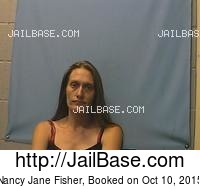 NANCY JANE FISHER mugshot picture