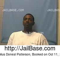 CONELIUS DONEAL PATTERSON mugshot picture
