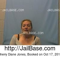 SHERRY DIANE JONES mugshot picture