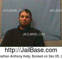 JOHNATHAN ANTHONY KELLY mugshot picture
