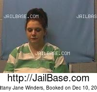 BRITTANY JANE WINDERS mugshot picture