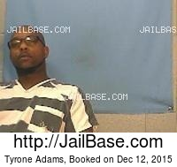TYRONE ADAMS mugshot picture