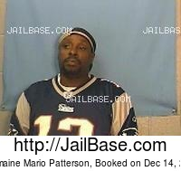 GERMAINE MARIO PATTERSON mugshot picture