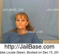VICKIE LOUISE GREEN mugshot picture