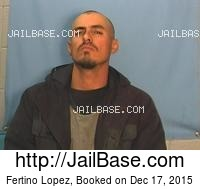 FERTINO LOPEZ mugshot picture