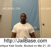 MONTIQUE KALE SCAIFE mugshot picture