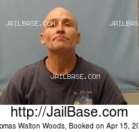 THOMAS WALTON WOODS mugshot picture