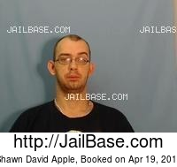 SHAWN DAVID APPLE mugshot picture