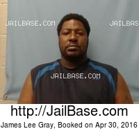JAMES LEE GRAY mugshot picture
