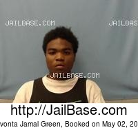 DEVONTA JAMAL GREEN mugshot picture