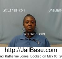 BRANDI KATHERINE JONES mugshot picture