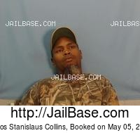 CARLOS STANISLAUS COLLINS mugshot picture