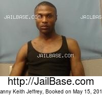DANNY KEITH JEFFREY mugshot picture