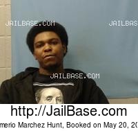 DEMERIO MARCHEZ HUNT mugshot picture