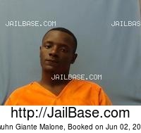 KWUHN GIANTE MALONE mugshot picture