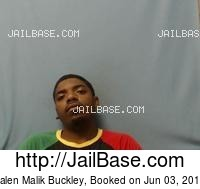 JALEN MALIK BUCKLEY mugshot picture