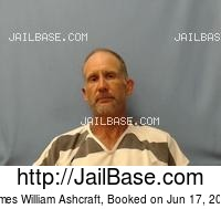JAMES WILLIAM ASHCRAFT mugshot picture