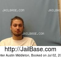 HUNTER AUSTIN MIDDLETON mugshot picture