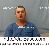 GERALD NEIL STANFIELD mugshot picture