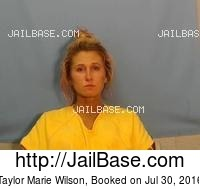 TAYLOR MARIE WILSON mugshot picture