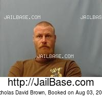 NICHOLAS DAVID BROWN mugshot picture