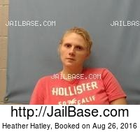 HEATHER HATLEY mugshot picture