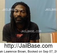 KEVIN LAWRENCE BROWN mugshot picture