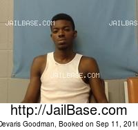 DEVARIS GOODMAN mugshot picture