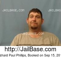 RICHARD PAUL PHILLIPS mugshot picture