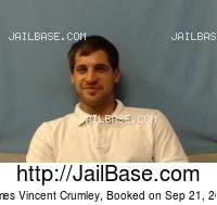 JAMES VINCENT CRUMLEY mugshot picture