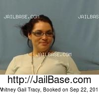 WHITNEY GAIL TRACY mugshot picture