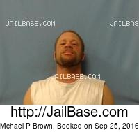 MICHAEL P BROWN mugshot picture