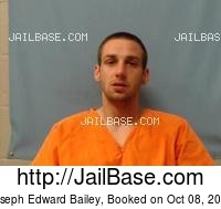 JOSEPH EDWARD BAILEY mugshot picture