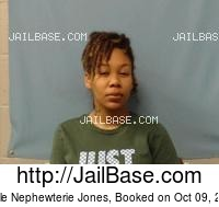 NICOLE NEPHEWTERIE JONES mugshot picture