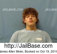 JAMES ALLEN MOLER mugshot picture