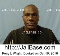PERRY L WRIGHT mugshot picture